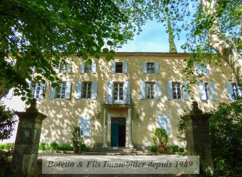 Vente de prestige maison / villa Uzes 1590000€ - Photo 1