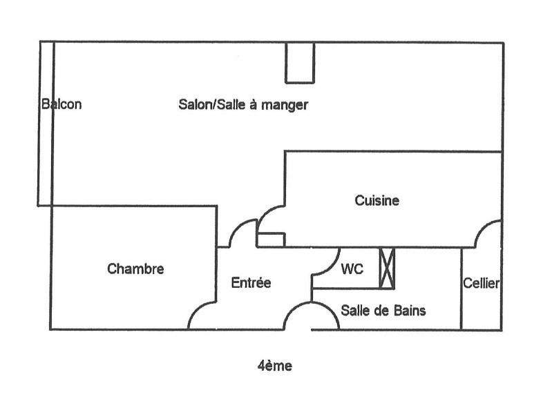 Location appartement Nantes 674€ CC - Photo 8
