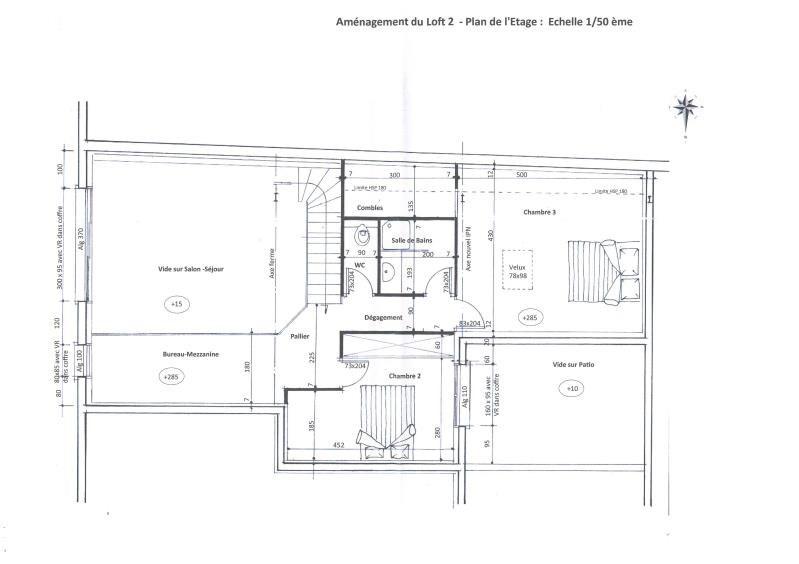 Sale loft/workshop/open plan Montelimar 142000€ - Picture 2