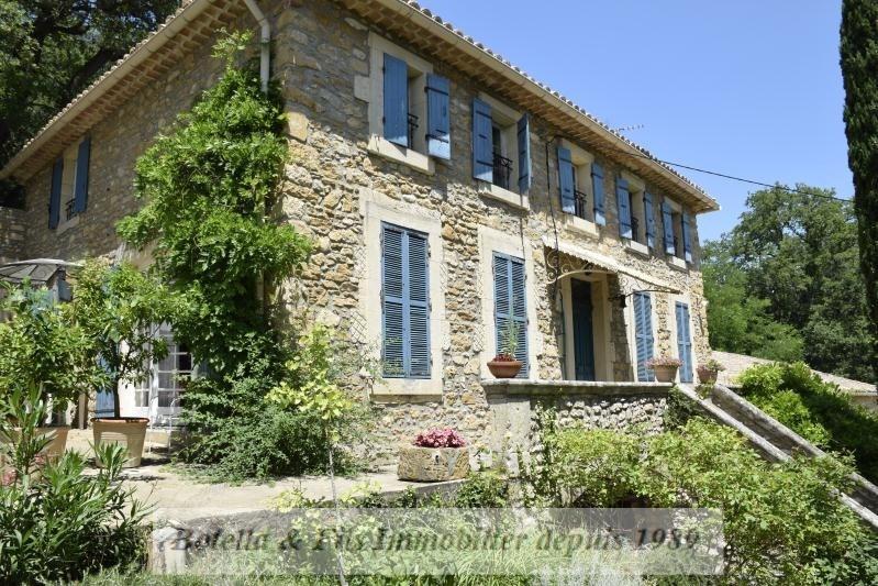 Verkoop van prestige  huis Uzes 1490000€ - Foto 2