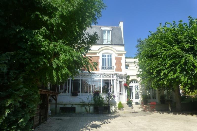 Revenda residencial de prestígio casa Villennes sur seine 1495000€ - Fotografia 2