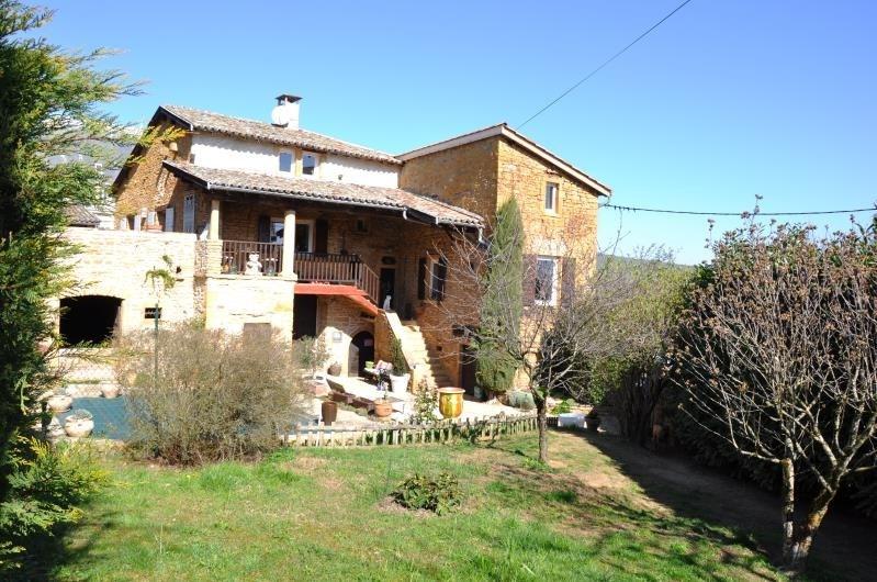 Vente maison / villa Liergues 549000€ - Photo 1
