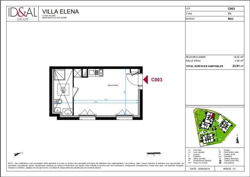 Investimento apartamento Neuville sur saone 118000€ - Fotografia 3