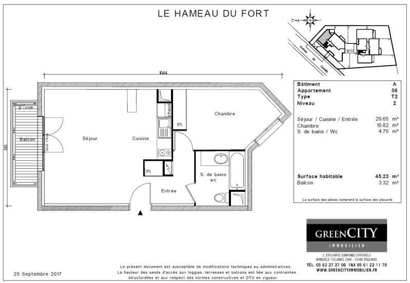 Rental apartment Chennevieres sur marne 735€ CC - Picture 2