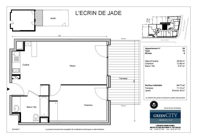 Location appartement Aulnay sous bois 810€ CC - Photo 2