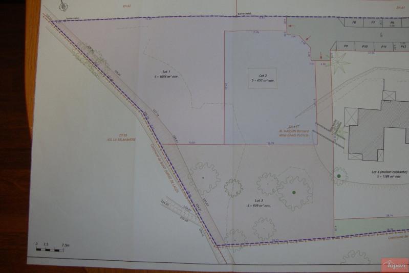 Vente terrain Lanta 115000€ - Photo 3