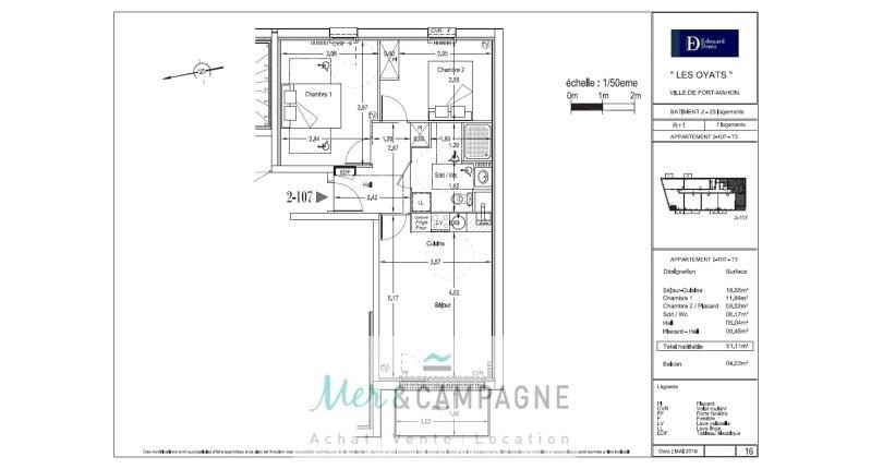 Vente appartement Fort mahon plage 190 000€ - Photo 3