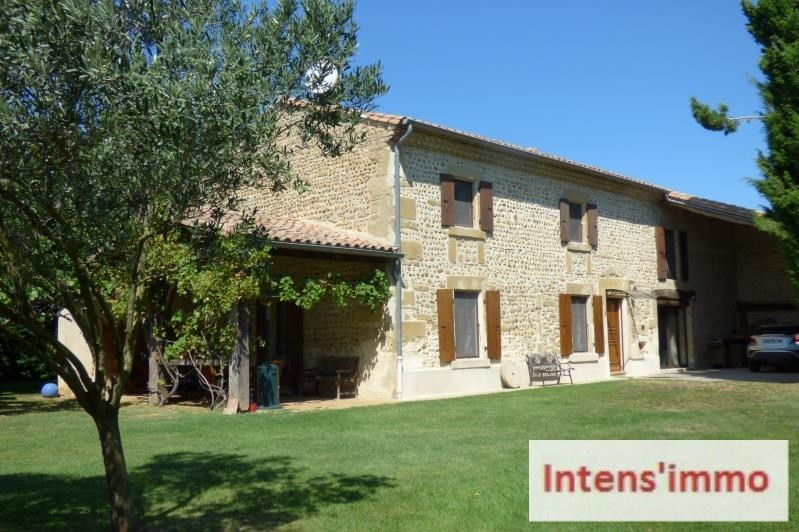 Vente maison / villa Portes les valence 465000€ - Photo 1