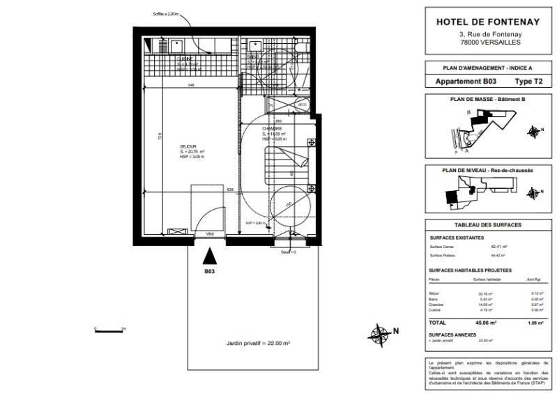 Sale apartment Versailles 625640€ - Picture 2