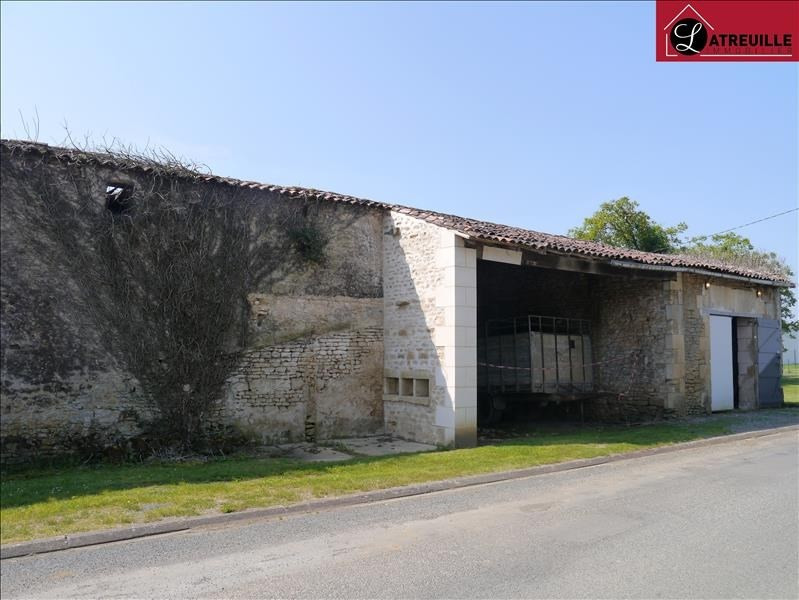 Vente maison / villa Gemozac 20 000€ - Photo 1