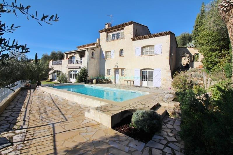 Vente de prestige maison / villa Speracedes 750000€ - Photo 1