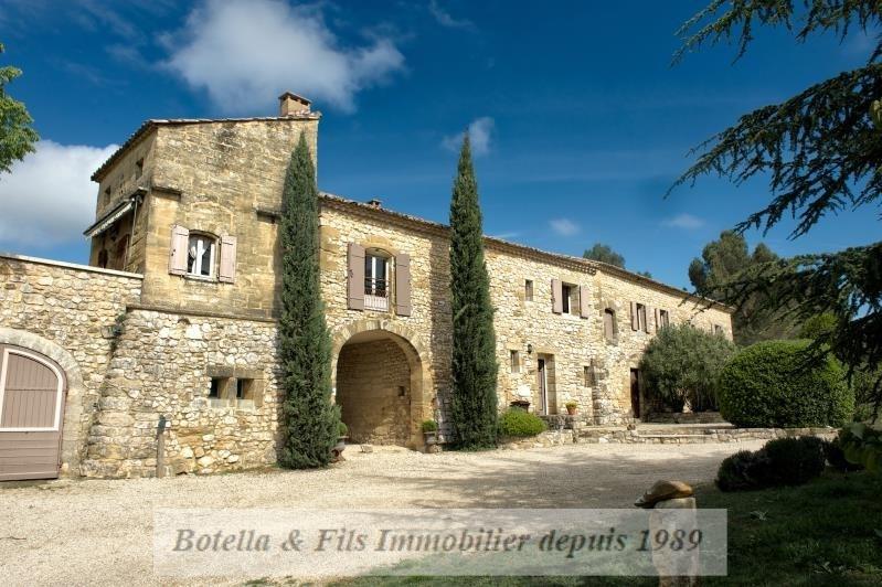 Verkoop van prestige  huis Uzes 2200000€ - Foto 1