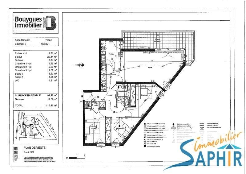 Sale apartment Toulouse 196100€ - Picture 3