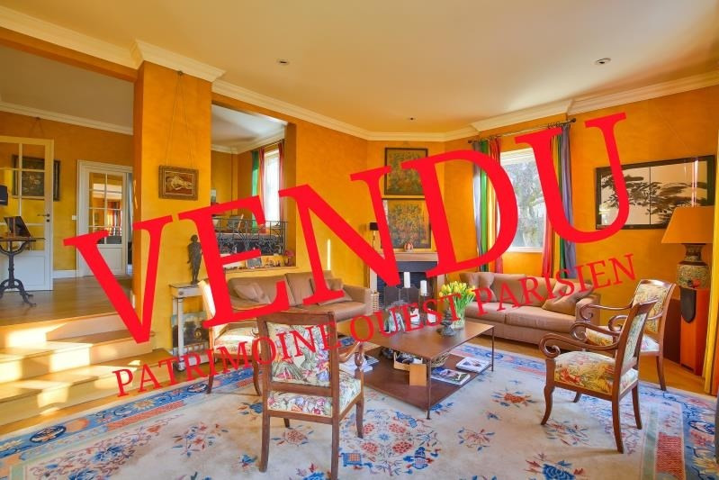 Deluxe sale house / villa St germain en laye 2392000€ - Picture 1