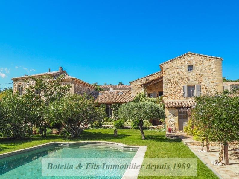 Immobile residenziali di prestigio casa Uzes 1680000€ - Fotografia 1
