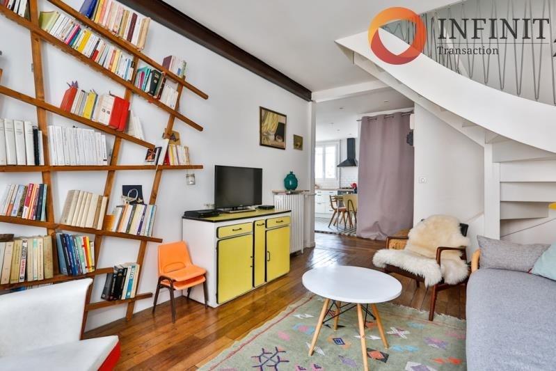 Vente appartement Paris 20ème 579000€ - Photo 1