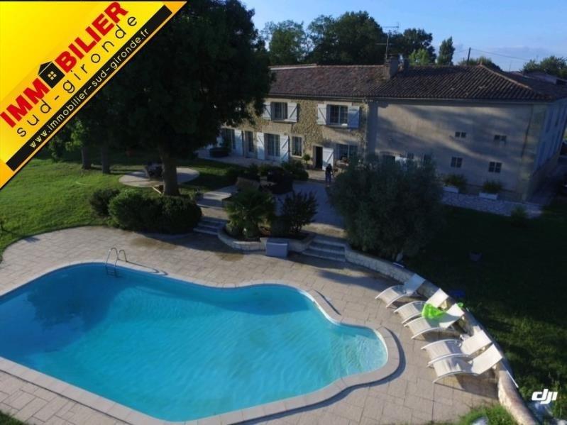 Vendita casa La reole 472500€ - Fotografia 1