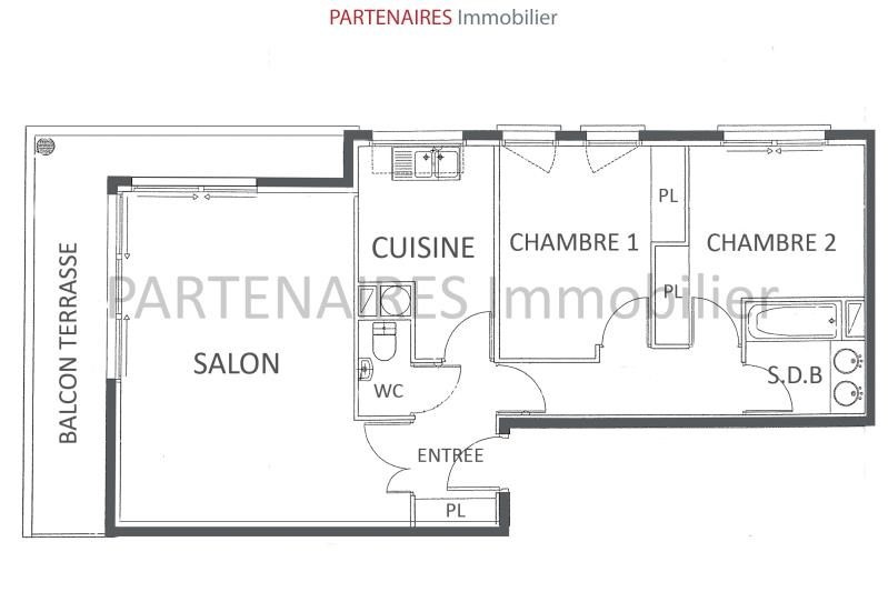 Vente appartement Le chesnay 430 000€ - Photo 8