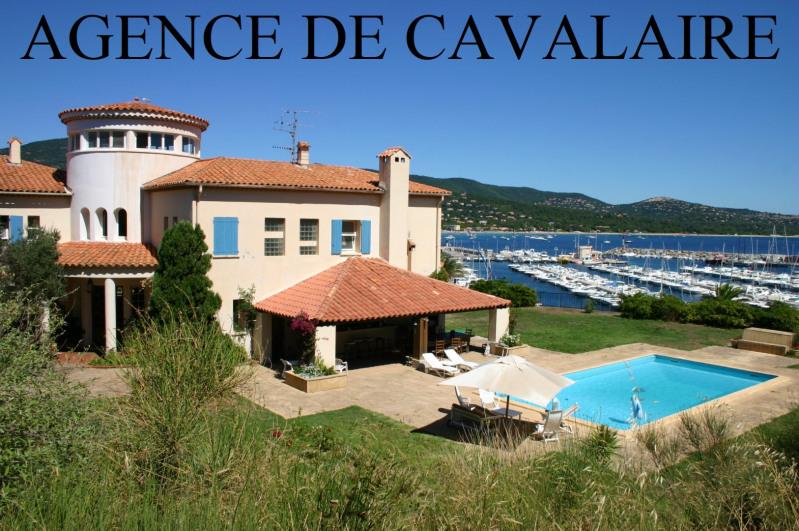 Sale house / villa Cavalaire sur mer 2600000€ - Picture 1