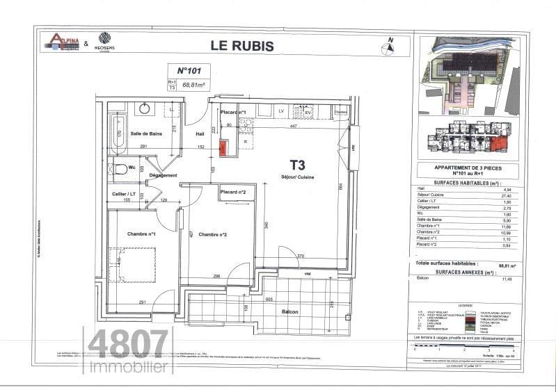 Location appartement Bonneville 855€ CC - Photo 6