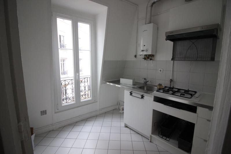 Rental apartment Paris 18ème 950€ CC - Picture 2