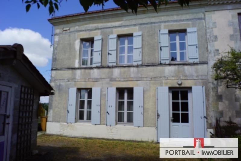 Sale house / villa Blaye 181000€ - Picture 1
