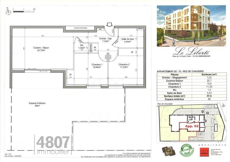 Produit d'investissement appartement Annemasse 230000€ - Photo 2