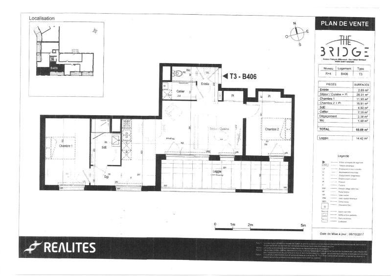 Location appartement Saint-nazaire 725€ CC - Photo 2