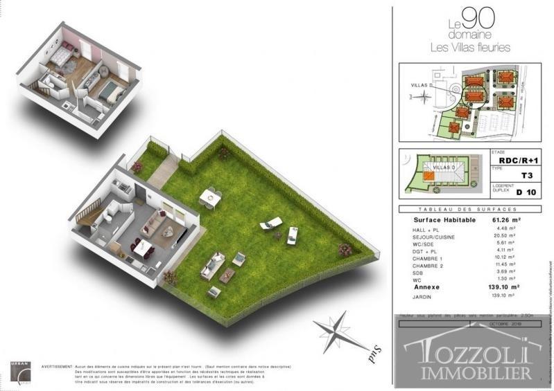 Sale house / villa Villefontaine 194000€ - Picture 2