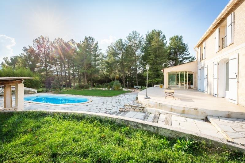 Venta de prestigio  casa Simiane collongue 690000€ - Fotografía 2