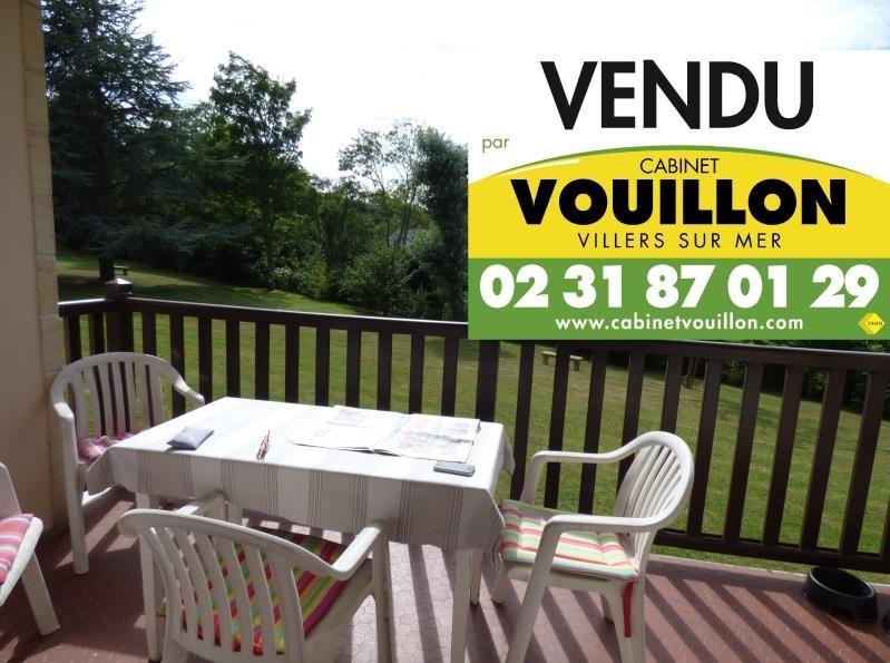 Vente appartement Villers sur mer 138000€ - Photo 1