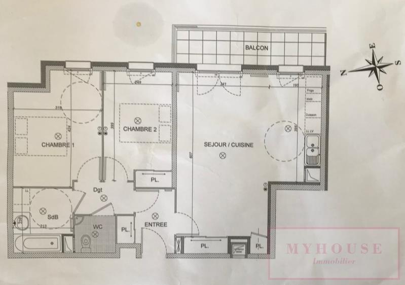Vente appartement Bagneux 337000€ - Photo 10