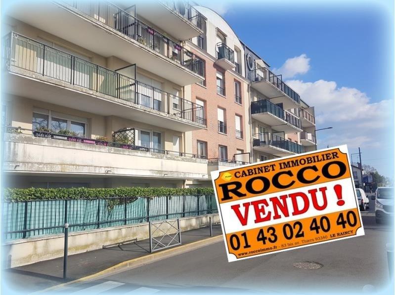 Sale apartment Les pavillons sous bois 159500€ - Picture 1
