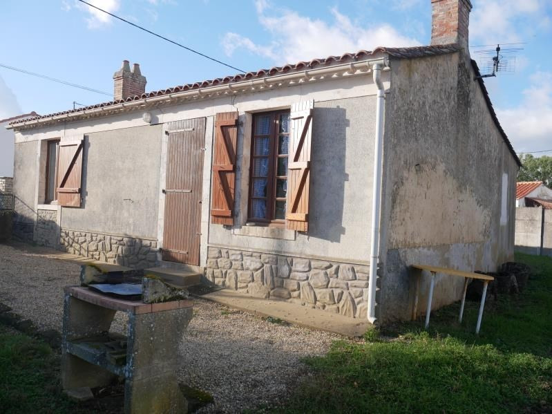 Vente maison / villa St vincent sur jard 176800€ - Photo 7