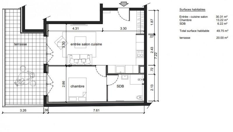 Produit d'investissement appartement Noisy-le-sec 220000€ - Photo 1