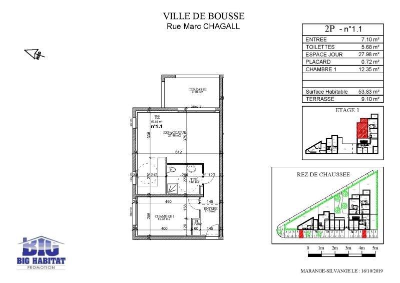 Sale apartment Bousse 145000€ - Picture 5