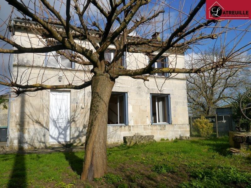 Sale house / villa Tesson 149460€ - Picture 1