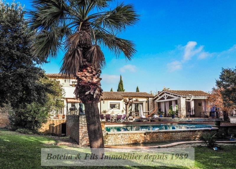 Vente de prestige maison / villa Bagnols sur ceze 490000€ - Photo 1