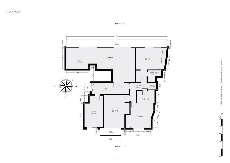 Sale apartment Paris 15ème 949000€ - Picture 9