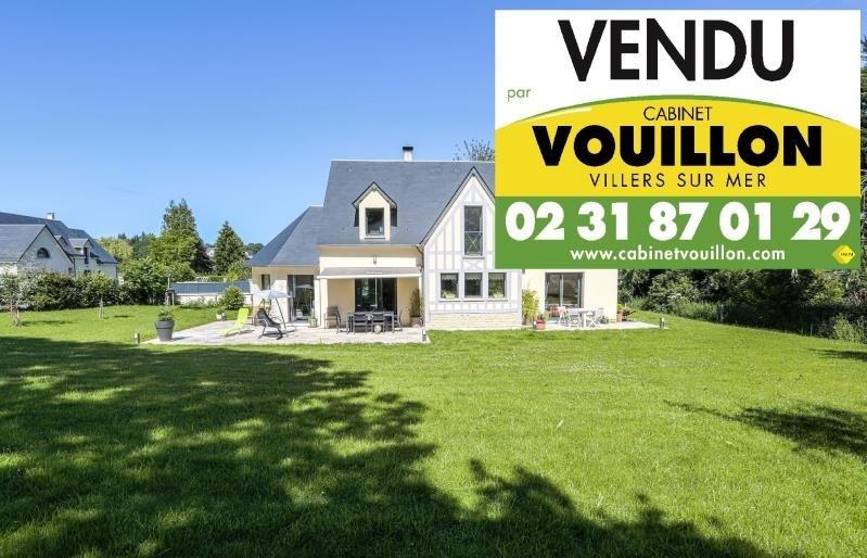 Deluxe sale house / villa Villers sur mer 599000€ - Picture 1
