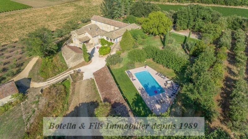 Vente de prestige maison / villa Uzes 1790000€ - Photo 1