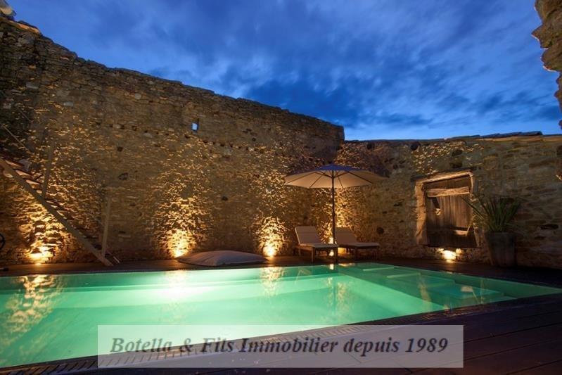 Verkoop van prestige  huis Aigueze 849000€ - Foto 1
