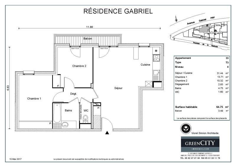 Rental apartment Noisy le sec 920€ CC - Picture 2