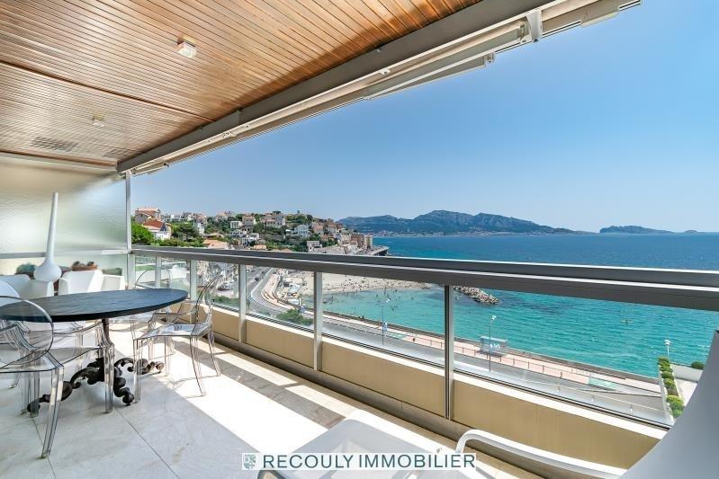 Vente de prestige appartement Marseille 7ème 1100000€ - Photo 2