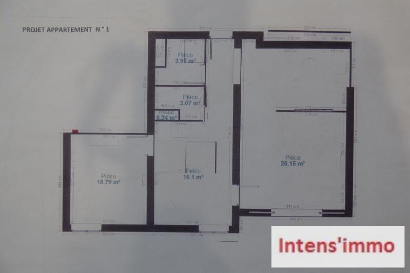 Sale apartment Romans sur isere 146200€ - Picture 3
