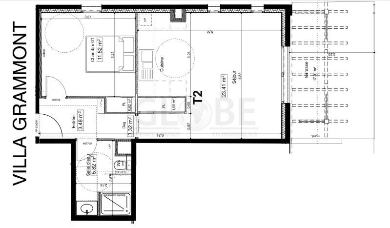 Vente appartement Biarritz 416000€ - Photo 2