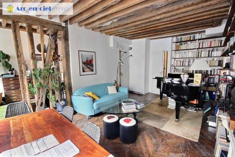 Vendita appartamento Paris 3ème 742000€ - Fotografia 3