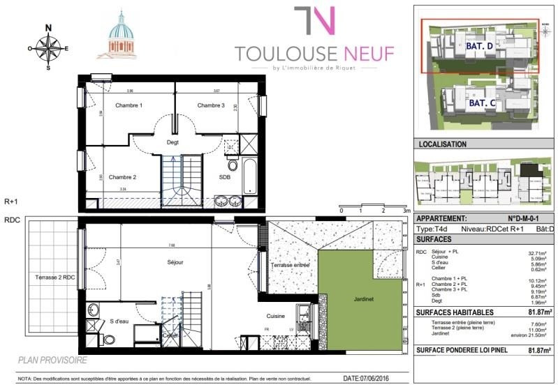 Vente appartement Toulouse 318 000€ - Photo 10