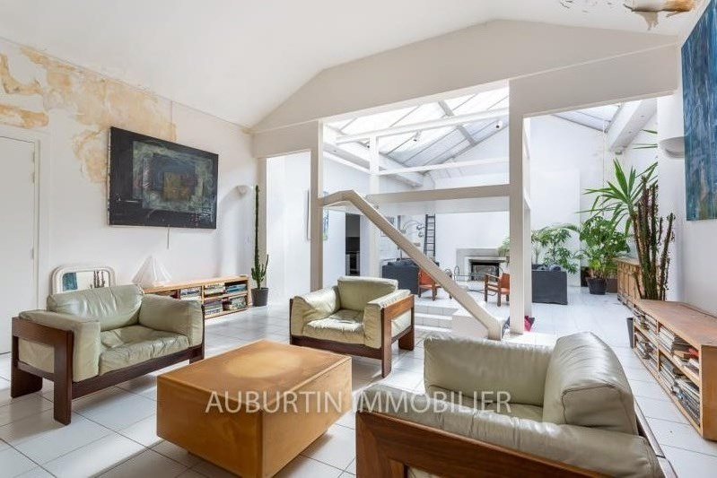 Deluxe sale loft/workshop/open plan Paris 18ème 1 450 000€ - Picture 3