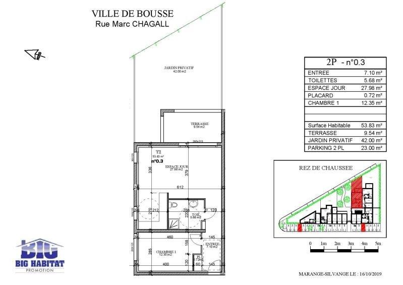 Sale apartment Bousse 145000€ - Picture 4